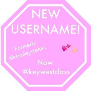 ATTN: New Username @keywestclass
